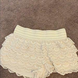 American Rag lace skort